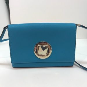 Kate Spade Small turquoise crossbody
